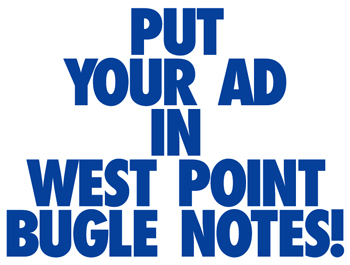 How to Purchase an Ad in the West Point Bugle Notes